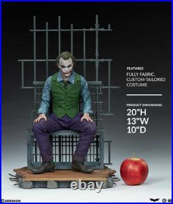 Sideshow The Joker Premium Format Figure Collector Edition Dark Knight IN SOCK
