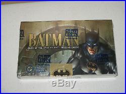 Skybox Batman Saga of the Dark Knight Trading Cards Factory Sealed Case 1994