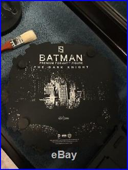 Sold out Batman The Dark Knight Premium Format Exclusive Sideshow 432/1000
