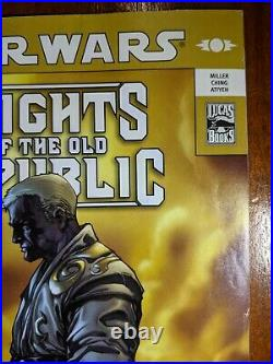 Star Wars KNIGHTS OF THE OLD REPUBLIC #9 1st Appearance of Darth Revan Comic