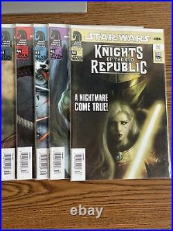 Star Wars Knights Of The Old Republic 19-50 (No 42) NEWSSTAND lot Run Dark Horse