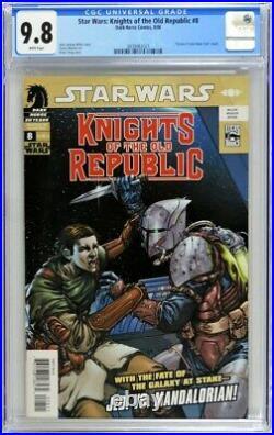 Star Wars Knights Of The Old Republic 8 Cgc 9.8 Dark Horse 2006 Mandalorian
