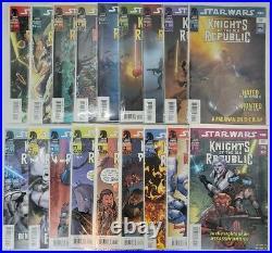 Star Wars Knights Of The Old Republic Dark Horse Comic Lot 2-6,8,10-18,32,36,37