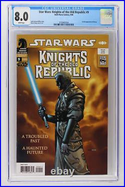 Star Wars Knights of the Old Republic #9 -Dark Horse 2006 CGC 8.0 1st App Revan