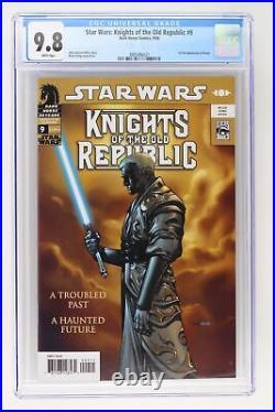Star Wars Knights of the Old Republic #9 Dark Horse 2006 CGC 9.8 1st full App