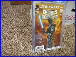 Star Wars Knights of the Old Republic 9 cgc 9.6 1st appearance Revan Dark Horse