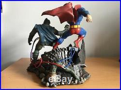 Superman Batman The Dark Knight Returns Statue DC Collectibles