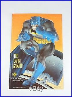 THE DARK KNIGHT Batman 3D Comic Book STORE DISPLAY 1985 Stand up Frank Miller DC