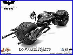 The DARK KNIGHT HOT-TOYS BAT-POD BATMAN 16 Scale REPLICA NEW! BATMOBILE