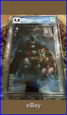 The DARK KNIGHT III THE MASTER RACE #1 CGC 9.8 1500 LEE VARIANT Batman-NO Res