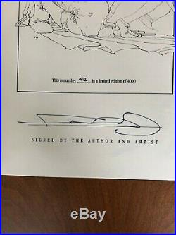 The Dark Knight 1986 signed limited ed. Hardcover by Frank Miller #412