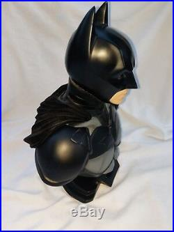 The Dark Knight Batman Bust DC Direct 12 Scale Sculpted by Kolby Jukes #37/2500