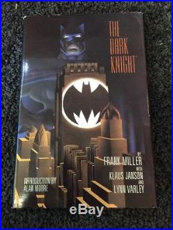 The Dark Knight Batman Frank Miller Signed Limited Edition Hardcover 3935/4000