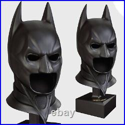 The Dark Knight Full Size Cowl Prop By Noble Collection (nn4527) Rrp £395