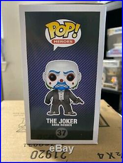 The Dark Knight Joker (Bank Robber) Funko POP