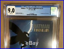 The Dark Knight Returns #1-4 Complete Series ALL CGC 9.0 9.8 (DC 1986)