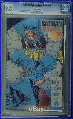 The Dark Knight Returns #2 1st Print CGC 9.8 White Pages Frank Miller Batman
