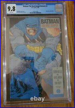 The Dark Knight Returns #2 CGC 9.8 White Pages Frank Miller DC Comics