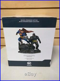 The Dark Knight Returns Batman vs. Superman Mini Statue by DC Collectibles