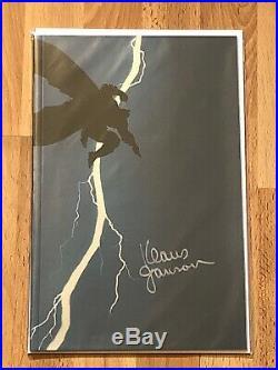 The Dark Knight Returns Foil Variants Signed By Frank Miller & Klaus Jansen