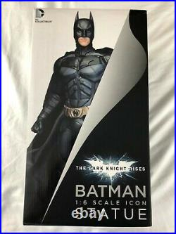 The Dark Knight Rises Batman 16 Scale DAVE CORTES Statue DC Collectibles