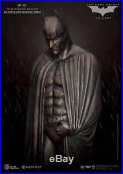 The Dark Knight Rises Master Craft The Dark Knight Memorial Statue Preorder
