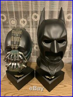 The Dark Knight Special Edition Cowl and Bane Mask by Noble Collection