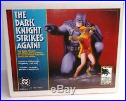 The Dark Knight Strikes Again Cold Cast Porcelain Statue Limited To 5500 Sealed