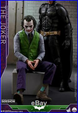 The Dark Knight The Joker Quarter Scale Scale Figure 14 Hot Toys Sideshow