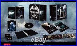 The Dark Knight Trilogy HDzeta 4K/2D Blu Ray Lenticular Steelbook Collection