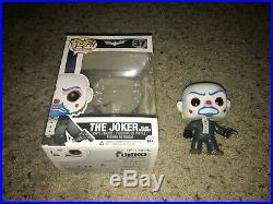 The Joker Bank Robber 37 The Dark Knight Trilogy Rare and Vaulted Funko Pop