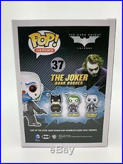 The Joker Bank Robber Funko Pop #37 Batman The Dark Knight