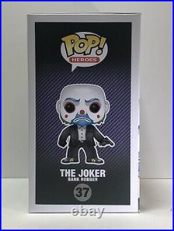 The Joker Bank Robber Funko Pop Batman Dark Knight #31 2013 Vaulted