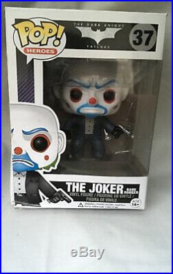 The Joker Bank Robber The Dark Knight Trilogy #37 Funko Pop Vinyl Figure