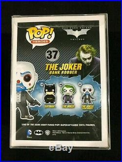 The Joker Bank Robber The Dark Knight Trilogy #37 Funko Pop Vinyl Figure NIB