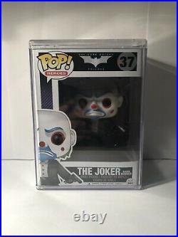 The Joker Bank Robber The Dark Knight Trilogy #37 Funko Pop With Funko Hard Case