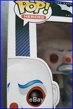 The Joker Bank Robber VAULTED Funko Pop! The dark knight Trilogy