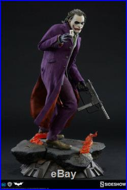 The Joker The Dark Knight Premium Format Figure by Sideshow Collectibles