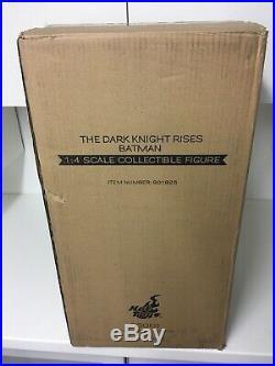 US Seller Hot Toys Batman 1/4 Scale The Dark Knight Rises QS001 Bruce Wayne New
