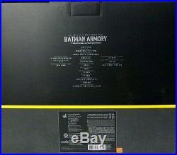 Used Movie Masterpiece The Dark Knight Alfred Penny Worth & Batman Armory