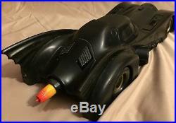 Vintage 1990 Batman Movie Kenner The Dark Knight Collection Batmobile Toy
