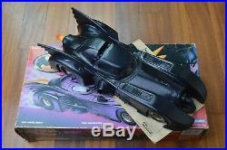 Vintage BATMAN THE DARK KNIGHT COLLECTION KENNER BATMOBILE 1990