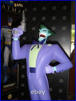 WBSS THE JOKER Maquette Statue From BATMAN Animated Warner bust Dark Knight Toy