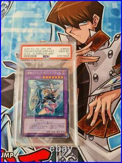 Yugioh Dark Magician Girl The Dragon Knight RC03-JP20 Secret PSA 10