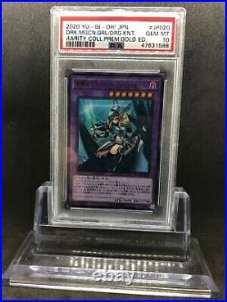 Yugioh Japanese Rarity Collection Dark Magician Girl the Dragon Knight PSA 10